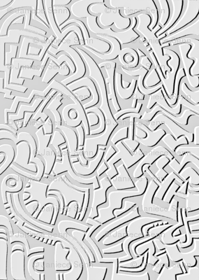 Embossed Doodle