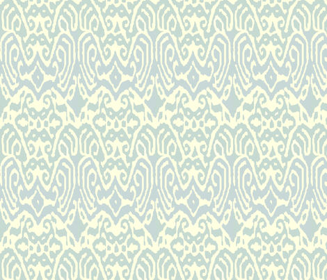 ikatlightslate fabric by ragan on Spoonflower - custom fabric