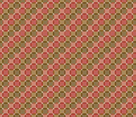 Circles-earthtones fabric by melhales on Spoonflower - custom fabric