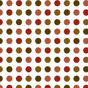 Earthtone Dots
