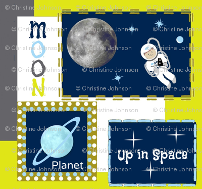 Up in Space / planets