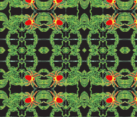Jamjax  Spiders Spin fabric by jamjax on Spoonflower - custom fabric