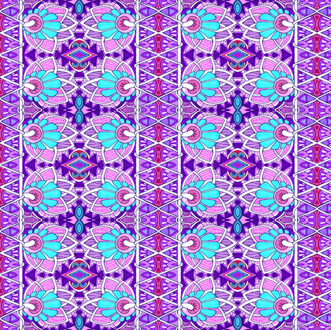Persian Pair fabric by edsel2084 on Spoonflower - custom fabric