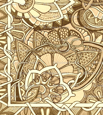 Tooled Leather Patchwork