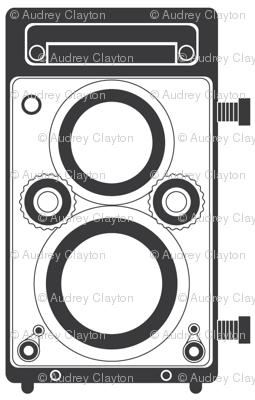 Gray Twin Lens Reflex