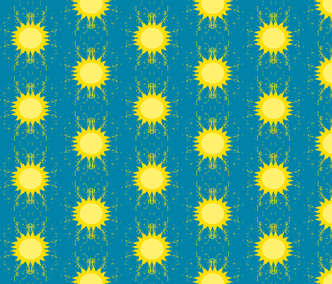 Sun 3 fabric by lisulle on Spoonflower - custom fabric