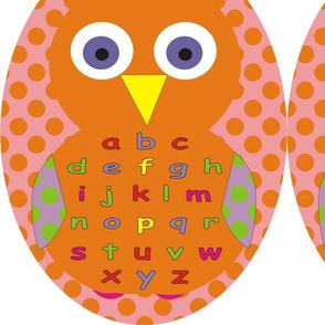 Owl Alphabet Bean Bags