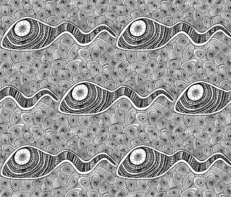 head_not_tail_edited fabric by g-mana on Spoonflower - custom fabric