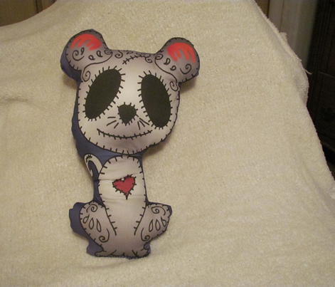 Sugar Mouse Zombie Pillow