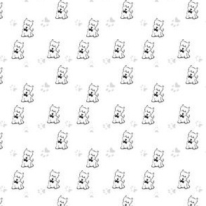 Dapper Westie & Pawprints