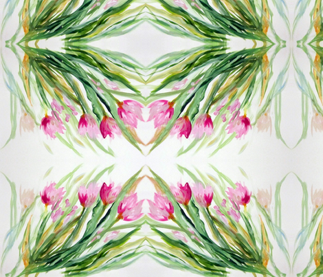 Tulips_Swaying fabric by tree_of_life on Spoonflower - custom fabric