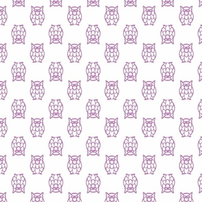 lilac owls