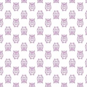 lilac owls