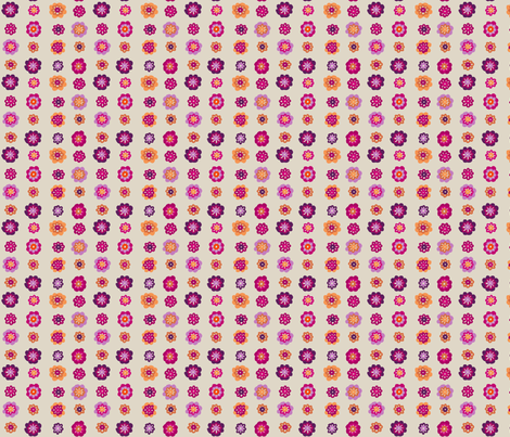 flowers_plum fabric by lfntextiles on Spoonflower - custom fabric