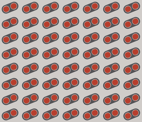 2buttons fabric by ilikemeat on Spoonflower - custom fabric