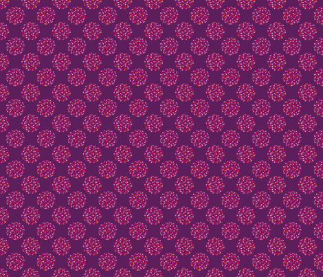 dots_multi_plum fabric by lfntextiles on Spoonflower - custom fabric