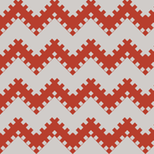 8bit Chevron Red