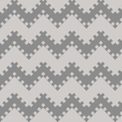8bit Chevron Gray