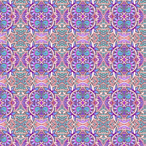 Pastel Petal Pusher fabric by edsel2084 on Spoonflower - custom fabric