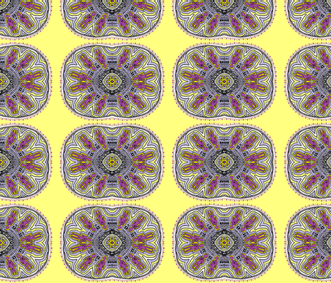 Moving_Shadows_editedlemon_mauve_trinity fabric by g-mana on Spoonflower - custom fabric