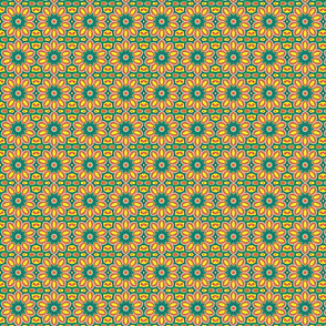 lilyflowerbluepointsongreensquare1