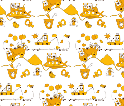 Landscape fabric by summerchild1973 on Spoonflower - custom fabric