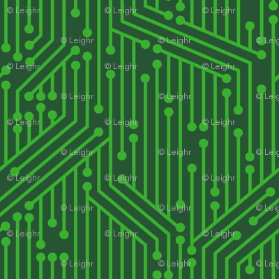 Printed Circuit Board (Green)