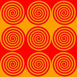 Red Gold Spiral