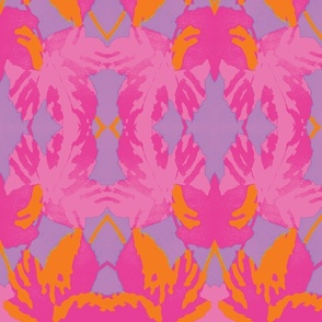 Magenta Maple Leaf