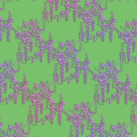 Fuji - Wisteria fabric by bonnie_phantasm on Spoonflower - custom fabric
