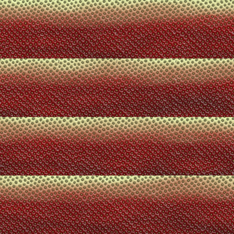 Strawberry Stripes fabric by bonnie_phantasm on Spoonflower - custom fabric