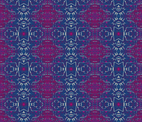 Spatial Anomaly - Bajoran wormhole fabric by susaninparis on Spoonflower - custom fabric