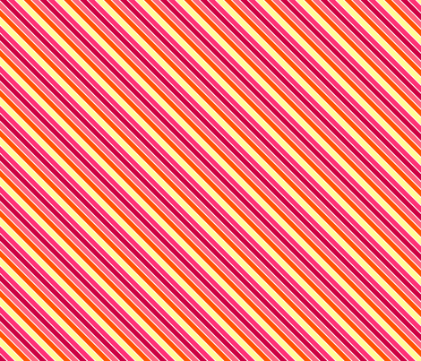 Fall'n For Pink! - Diagonal Stripes - © PinkSodaPop 4ComputerHeaven.com fabric by pinksodapop on Spoonflower - custom fabric