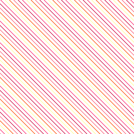 Fall'n For Pink! - Diagonal Skinny Stripes - © PinkSodaPop 4ComputerHeaven.com fabric by pinksodapop on Spoonflower - custom fabric