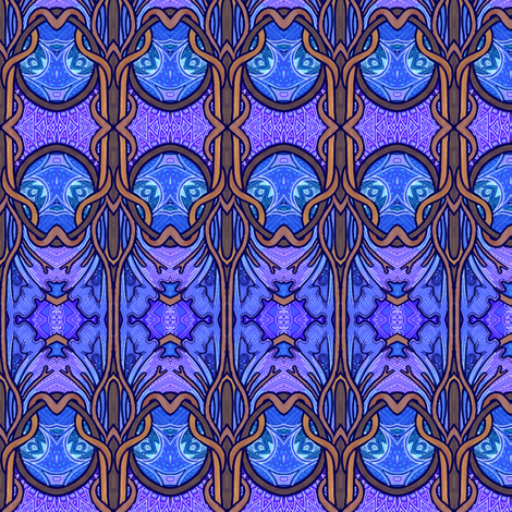 By the Light of the Full Moon fabric by edsel2084 on Spoonflower - custom fabric