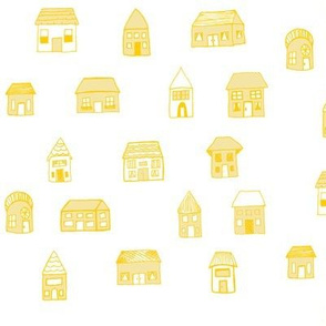 House Print - Yellow