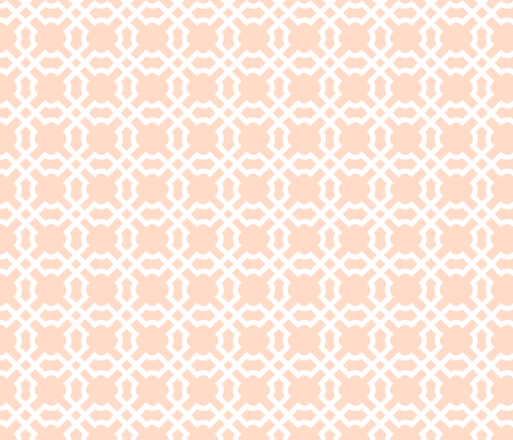 Geo Tile Sundowner fabric by winterdesign on Spoonflower - custom fabric