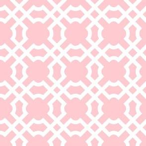 Geo Tile Pink