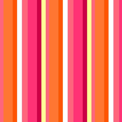 Fall'n For Pink! - Stripes - © PinkSodaPop 4ComputerHeaven.com fabric by pinksodapop on Spoonflower - custom fabric