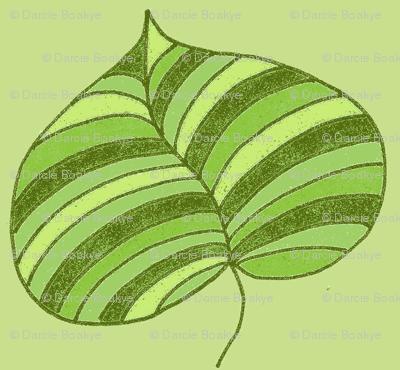 stripey palm greens