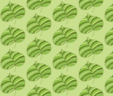stripey palm greens fabric by dnbmama on Spoonflower - custom fabric