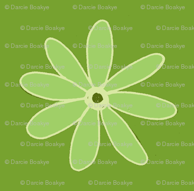 green daisy