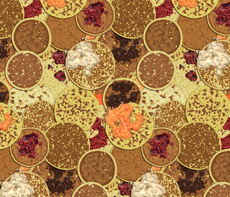 Got Pancakes? fabric by bonnie_phantasm on Spoonflower - custom fabric