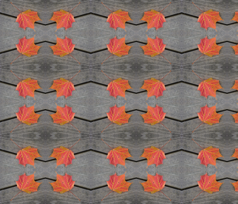 Maple Chevron fabric by donna_kallner on Spoonflower - custom fabric