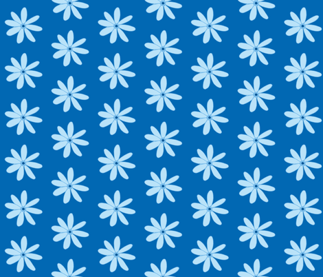 daisy dark blue