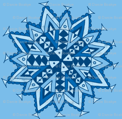 mandala star blues