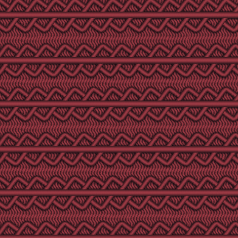 Palpatine Burgundy - Geometric