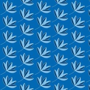 leafy flow blue