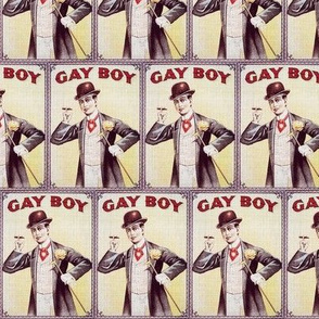 "Vintage ""Gay Boy"" Cigarette ad"
