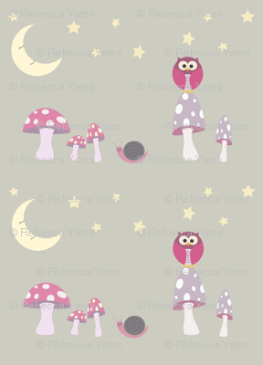 The Owl and the Moon Pinks